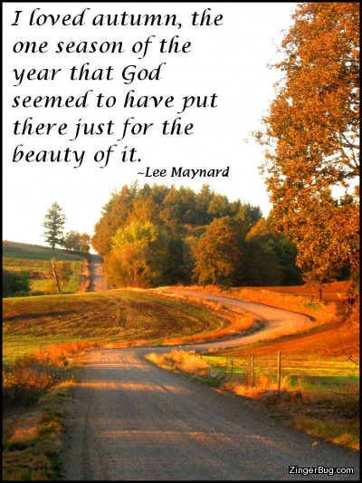 Autumn Lee Maynard Quote Glitter Graphic Greeting